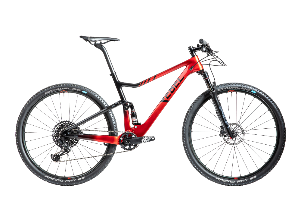 rebel wildcat full suspension mountainbike